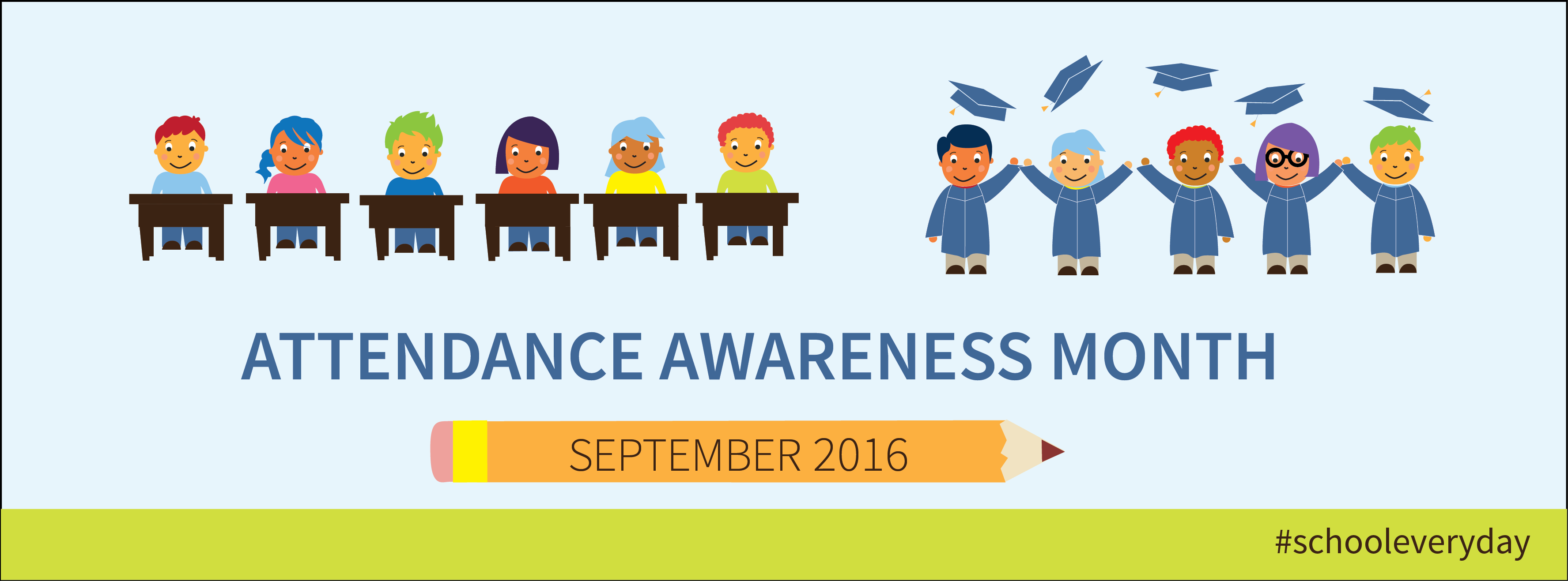 Image result for attendance awareness month 2016