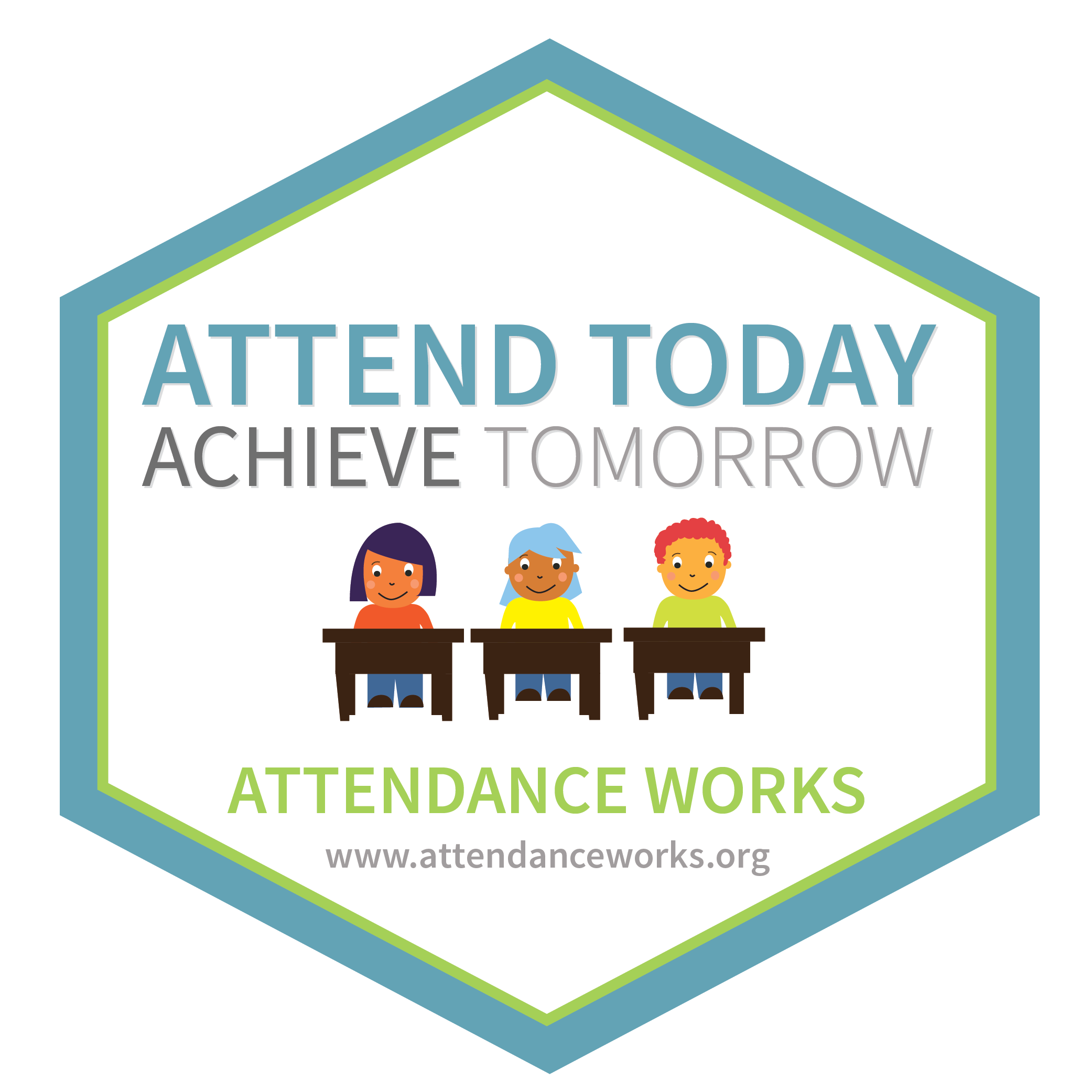 graduation party photo display ideas - 2017 Badges Attendance Awareness Month