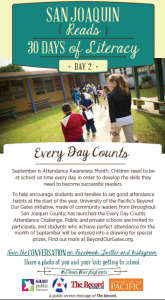 San Joaquin - 30 days of literacy day 2